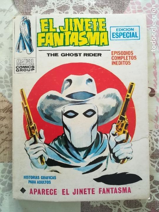 EL JINETE FANTASMA V 1 Nº 1 A 4 COMPLETA (Tebeos y Comics - Vértice - V.1)