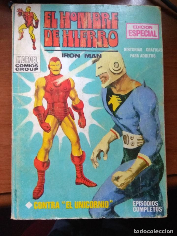 EL HOMBRE DE HIERRO Nº 2 - VÉRTICE TACO (Tebeos y Comics - Vértice - Hombre de Hierro)