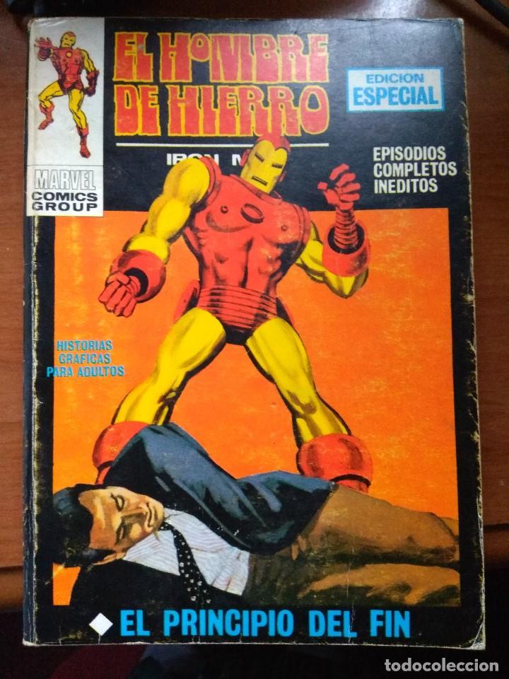 EL HOMBRE DE HIERRO Nº 7 - VÉRTICE TACO (Tebeos y Comics - Vértice - Hombre de Hierro)