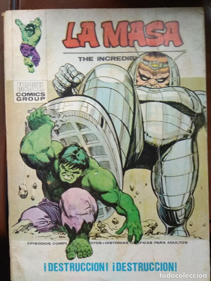 LA MASA Nº 32 - VÉRTICE TACO (Tebeos y Comics - Vértice - La Masa)