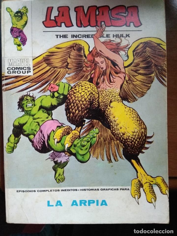 LA MASA Nº 33 - VÉRTICE TACO (Tebeos y Comics - Vértice - La Masa)
