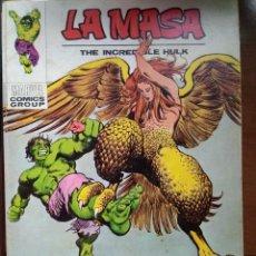 Cómics: LA MASA Nº 33 - VÉRTICE TACO. Lote 168770884
