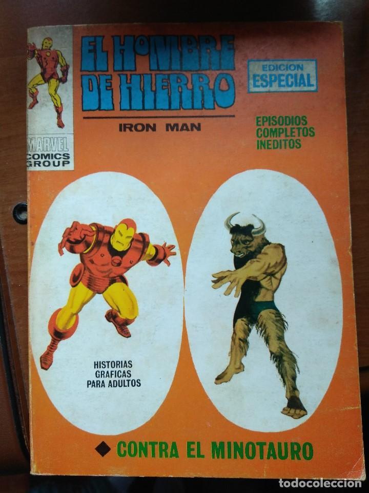 EL HOMBRE DE HIERRO Nº 10 - VÉRTICE TACO - CON ERROR DE IMPRENTA (Tebeos y Comics - Vértice - Hombre de Hierro)