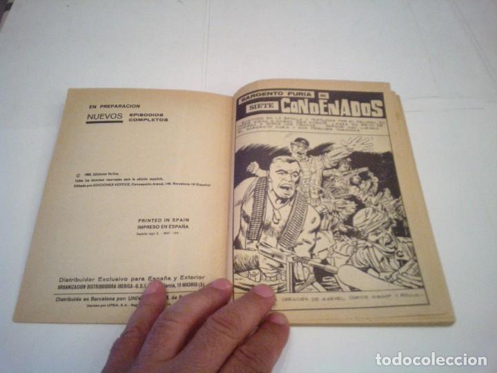Cómics: SARGENTO FURIA - VERTICE - VOLUMEN 1- COMPLETA - 27 NUMEROS - BUEN ESTADO - cj 86 - GORBAUD - Foto 9 - 168855512