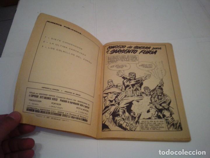 Cómics: SARGENTO FURIA - VERTICE - VOLUMEN 1- COMPLETA - 27 NUMEROS - BUEN ESTADO - cj 86 - GORBAUD - Foto 28 - 168855512