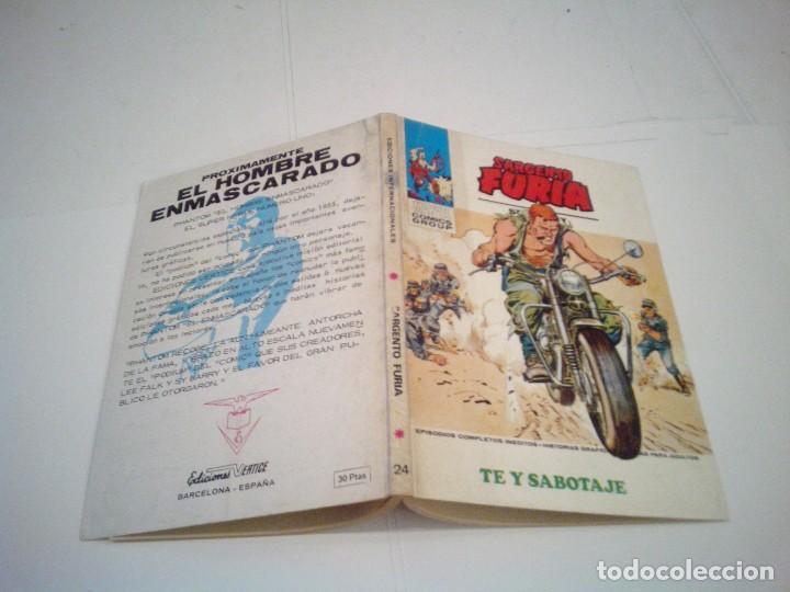 Cómics: SARGENTO FURIA - VERTICE - VOLUMEN 1- COMPLETA - 27 NUMEROS - BUEN ESTADO - cj 86 - GORBAUD - Foto 116 - 168855512