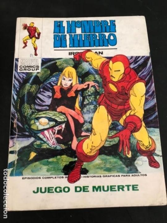 VÉRTICE V1 EL HOMBRE DE HIERRO N 26 JUEGO DE MUERTE NUEVO (Tebeos y Comics - Vértice - Hombre de Hierro)