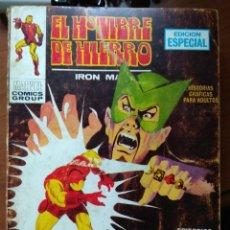 Cómics: EL HOMBRE DE HIERRO Nº 4 - VÉRTICE TACO. Lote 168883536