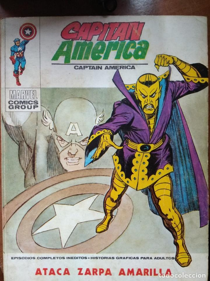 CAPITAN AMERICA Nº 33 - VERTICE TACO (Tebeos y Comics - Vértice - Capitán América)