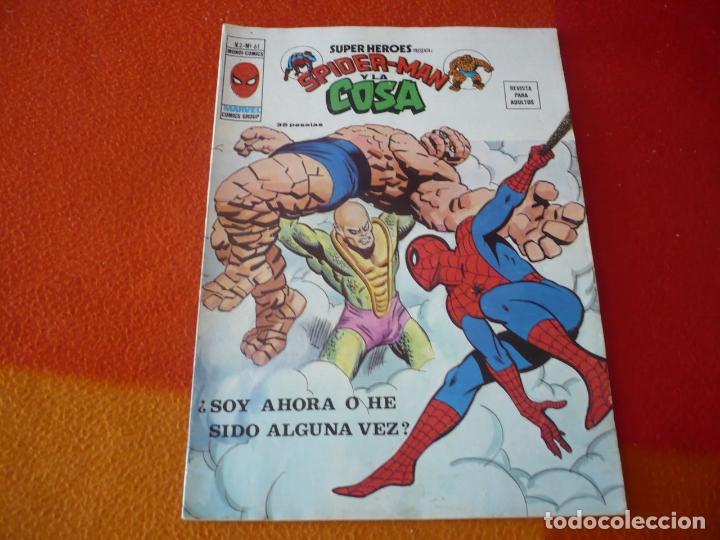 SUPER HEROES PRESENTA VOL. 2 Nº 61 SPIDERMAN Y LA COSA VERTICE MUNDI-COMICS (Tebeos y Comics - Vértice - Super Héroes)