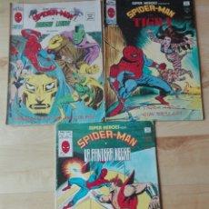 Cómics: LOTE 3 NUMEROS SUPER HEROES V2 VERTICE. 60,92 Y 123. Lote 168996968