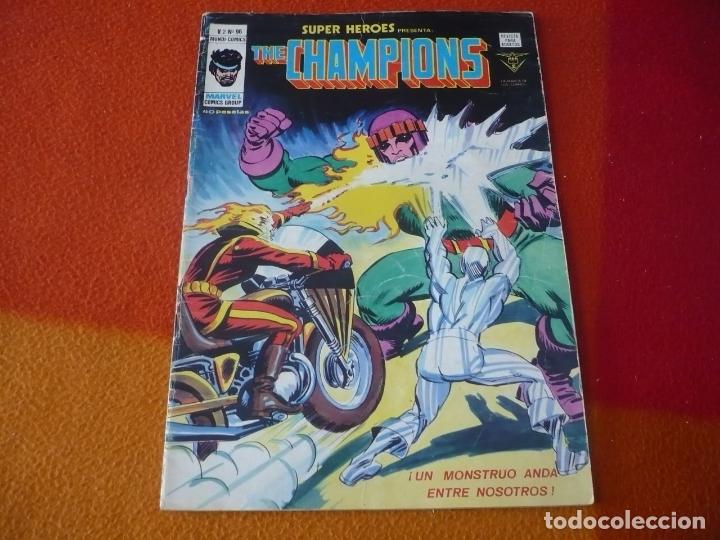 SUPER HEROES PRESENTA VOL. 2 Nº 96 THE CHAMPIONS VERTICE MUNDI-COMICS (Tebeos y Comics - Vértice - Super Héroes)