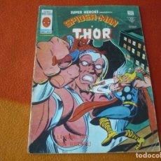 Cómics: SUPER HEROES PRESENTA VOL. 2 Nº 97 SPIDERMAN Y THOR VERTICE MUNDI-COMICS. Lote 169004560