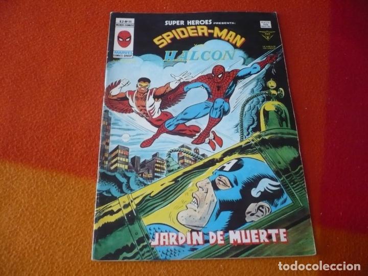 SUPER HEROES PRESENTA VOL. 2 Nº 98 SPIDERMAN Y EL HALCON VERTICE MUNDI-COMICS (Tebeos y Comics - Vértice - Super Héroes)
