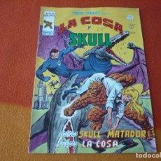 Cómics: SUPER HEROES PRESENTA VOL. 2 Nº 100 LA COSA Y SKULL VERTICE MUNDI-COMICS. Lote 169016176