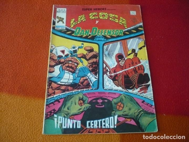 SUPER HEROES PRESENTA VOL. 2 Nº 101 LA COSA Y DAN DEFENSOR VERTICE MUNDI-COMICS (Tebeos y Comics - Vértice - Super Héroes)