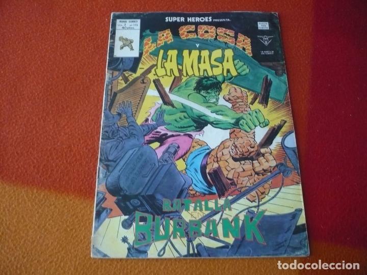 SUPER HEROES PRESENTA VOL. 2 Nº 115 LA COSA Y LA MASA VERTICE MUNDI-COMICS (Tebeos y Comics - Vértice - Super Héroes)