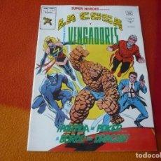 Cómics: SUPER HEROES PRESENTA VOL. 2 Nº 117 LA COSA Y LOS VENGADORES ¡BUEN ESTADO! VERTICE MUNDI-COMICS. Lote 169030600