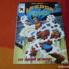Cómics: SUPER HEROES PRESENTA VOL. 2 Nº 120 LA COSA Y DEATLOK VERTICE MUNDI-COMICS. Lote 169030680