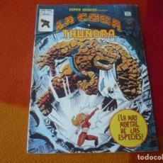 Cómics: SUPER HEROES PRESENTA VOL. 2 Nº 121 LA COSA Y THUNDRA VERTICE MUNDI-COMICS. Lote 169034756