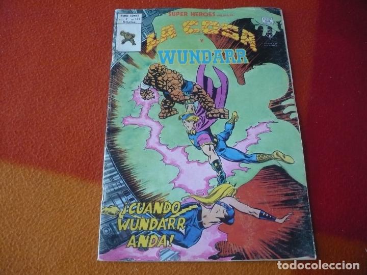 SUPER HEROES PRESENTA VOL. 2 Nº 122 LA COSA Y WUNDARR VERTICE MUNDI-COMICS (Tebeos y Comics - Vértice - Super Héroes)