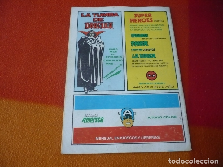 Cómics: SUPER HEROES PRESENTA VOL. 2 Nº 123 SPIDERMAN Y LA PANTERA NEGRA VERTICE MUNDI-COMICS - Foto 2 - 169034988