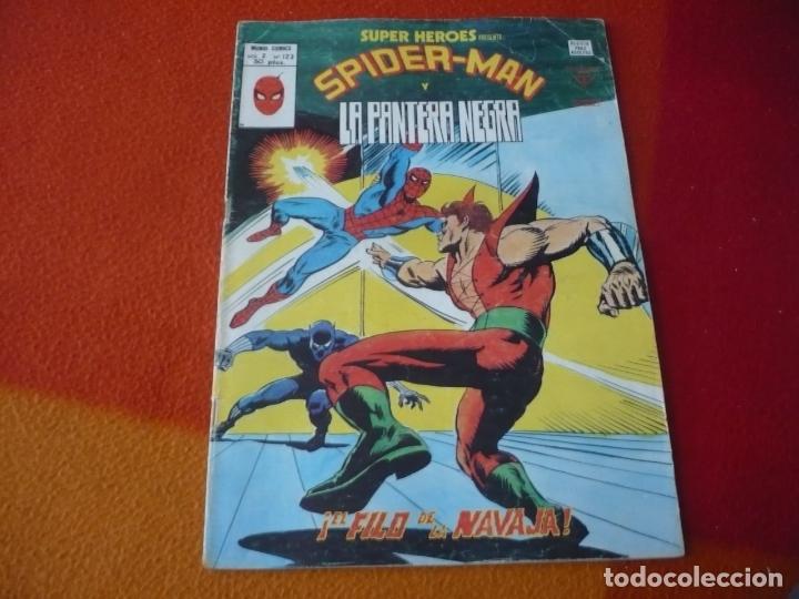 SUPER HEROES PRESENTA VOL. 2 Nº 123 SPIDERMAN Y LA PANTERA NEGRA VERTICE MUNDI-COMICS (Tebeos y Comics - Vértice - Super Héroes)