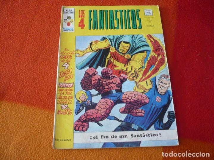 LOS 4 FANTASTICOS VOL. 3 Nº 6 EL FIN DE MR FANTASTICO VERTICE MUNDI-COMICS (Tebeos y Comics - Vértice - 4 Fantásticos)