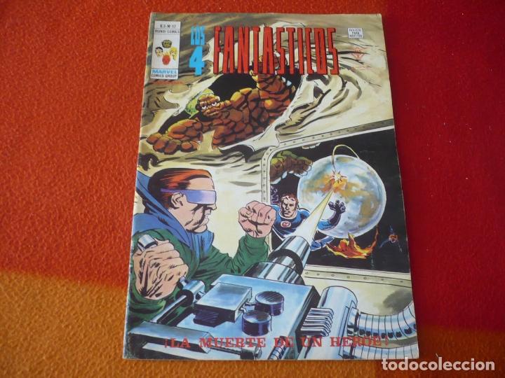 LOS 4 FANTASTICOS VOL. 3 Nº 17 LA MUERTE DE UN HEROE VERTICE MUNDI-COMICS (Tebeos y Comics - Vértice - 4 Fantásticos)