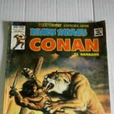 Cómics: CONAN, RELATOS SALVAJES, V.1, NÚM. 65, LOS HIJOS DE JHEBBAL SAG.. Lote 169084565
