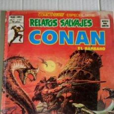 Cómics: CONAN, RELATOS SALVAJES, V.1, NÚM. 67. LA HIJA DE LA BRUJERÍA.. Lote 169085414