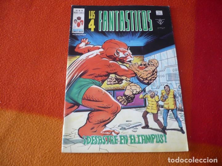 LOS 4 FANTASTICOS VOL. 3 Nº 19 DESASTRE EN EL CAMPUS ¡BUEN ESTADO! VERTICE MUNDI-COMICS (Tebeos y Comics - Vértice - 4 Fantásticos)