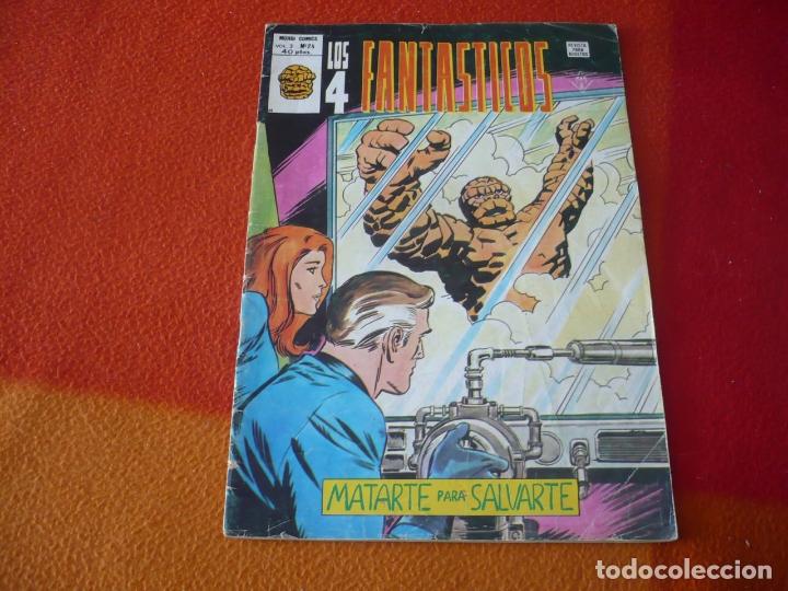 LOS 4 FANTASTICOS VOL. 3 Nº 24 MATARTE PASA SALVARTE VERTICE MUNDI-COMICS (Tebeos y Comics - Vértice - 4 Fantásticos)