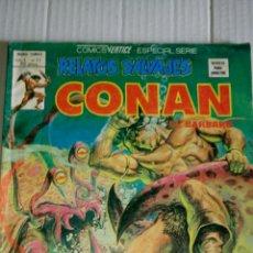 Cómics: CONAN, RELATOS SALVAJES, V.1, NÚM. 77, LOS HIJOS DEL LOBO BLANCO.. Lote 184223672