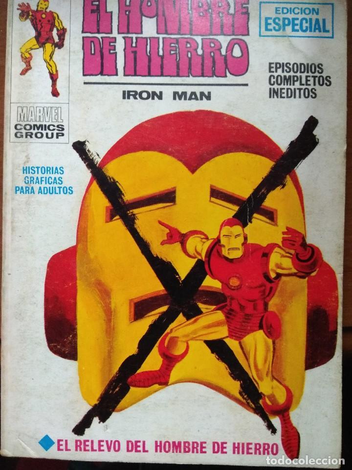 EL HOMBRE DE HIERRO Nº 9 - VÉRTICE TACO (Tebeos y Comics - Vértice - Hombre de Hierro)