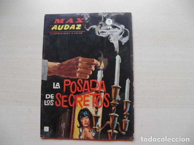 TEBEO DE MAX AUDAZ (Tebeos y Comics - Vértice - Fleetway)
