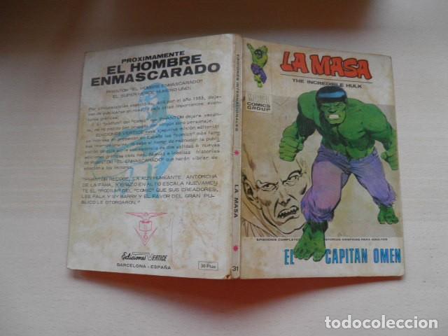 TEBEO DE LA MASA (Tebeos y Comics - Vértice - La Masa)