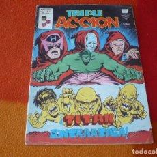 Comics : TRIPLE ACCION VOL. 1 Nº 8 TITAN CONTRAATACA VERTICE MUNDI-COMICS MARVEL. Lote 169189988