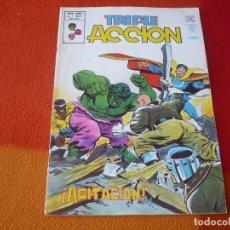 Comics : TRIPLE ACCION VOL. 1 Nº 12 AGITACION VERTICE MUNDI-COMICS MARVEL. Lote 169191048