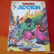 Cómics: TRIPLE ACCION VOL. 1 Nº 14 COLMILLOS DE FUEGO Y SANGRE VERTICE MUNDI-COMICS MARVEL. Lote 169196812