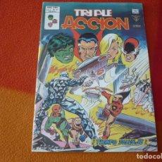 Comics : TRIPLE ACCION VOL. 1 Nº 16 TIEMPO SALVAJE ¡MUY BUEN ESTADO! VERTICE MUNDI-COMICS. Lote 169197132