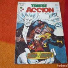 Comics : TRIPLE ACCION VOL. 1 Nº 22 EXILIO AL OLVIDO ¡BUEN ESTADO! VERTICE MUNDI-COMICS. Lote 169204100