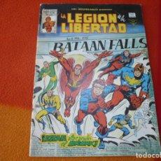 Comics : LOS INSUPERABLES PRESENTAN VOL. 1 Nº 34 LA LEGION DE LA LIBERTAD VERTICE MUNDI-COMICS. Lote 169304452