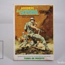Cómics: CÓMIC - ACCIONES DE GUERRA Nº 3 / TUNEL DE MUERTE - EDITORIAL VÉRTICE - AÑO 1972. Lote 169306752