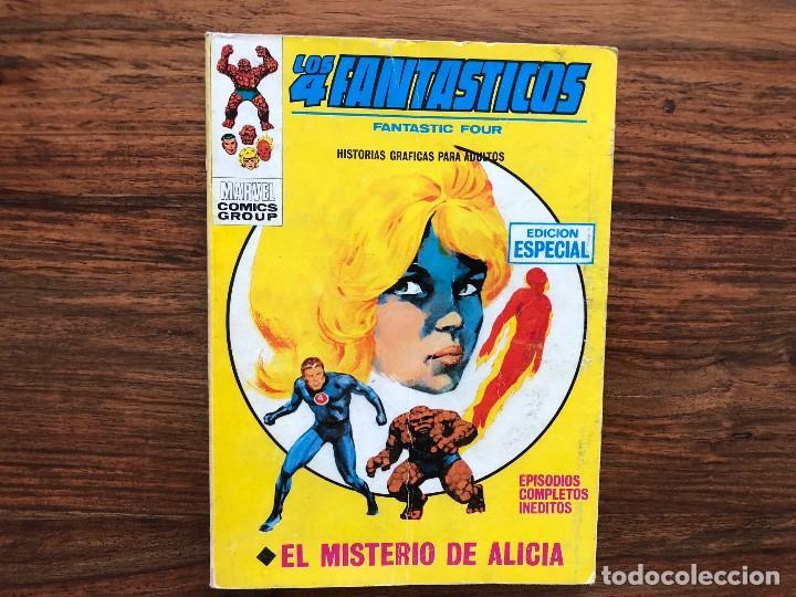 LOS 4 FANTÁSTICOS . VOLUMEN I, Nº. 32 . EL MISTERIO DE ALICIA (Tebeos y Comics - Vértice - 4 Fantásticos)