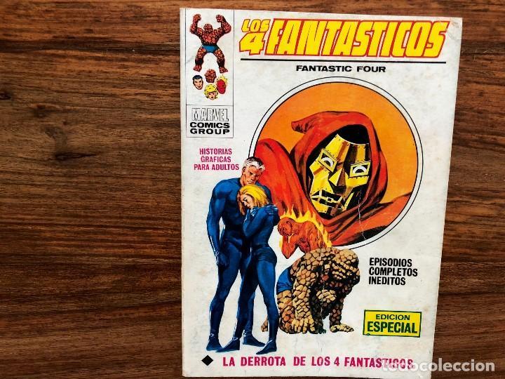 LOS 4 FANTÁSTICOS. VOLUMEN I Nº 28 . LA DERROTA DE LOS 4 FANTÁSTICOS (Tebeos y Comics - Vértice - 4 Fantásticos)