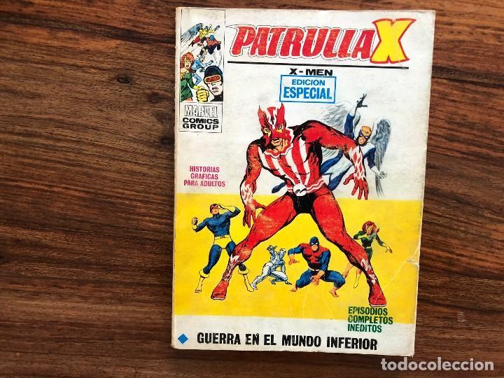 PATRULLA X. VOLUMEN I. Nº 29 GUERRA EN EL MUNDO INFERIOR (Tebeos y Comics - Vértice - Patrulla X)
