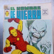 Cómics: VÉRTICE VOL. 2 EL HOMBRE DE HIERRO Nº 3. 1974. EL RETORNO DEL MONSTRUO.. Lote 169378821