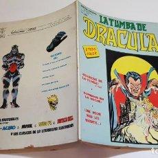Cómics: VERTICE - LA TUMBA DE DRACULA - VOL 2 - Nº7 . Lote 169393876