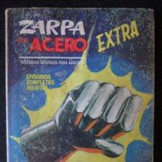 Cómics: ZARPA DE ACERO Nº 10 - EXTRA - LA LUZ CEGADORA - VÉRTICE 1966. Lote 169741896